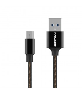 Short USB-C to USB Cable - Black