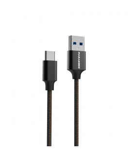 Kort USB-C to USB kabel - Black
