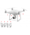 Phantom 4 Pro - Landing Gear Antenna Cover 4