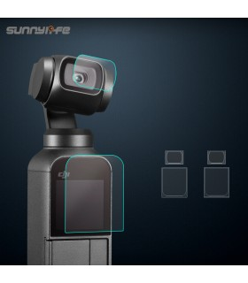Sunnylife - Screen Film Camera Lens Protective Film Accessory for DJI OSMO Pocket
