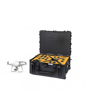 Phantom 4 RTK and DJI D-RTK 2 Mobile Station Transport Case | HPRC
