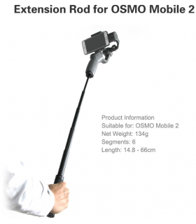 Sunnylife - Selfie Stick For Osmo (Action/Pocket/Mobile)
