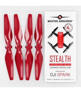 Propellers For DJI Spark 4-pack (Red) | Master Airscrew